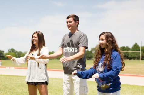 """Drum Majors Chosen for 2014-15, Marching Show """"Alleluia"""""""