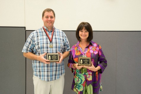 Nytomt and Baker Awarded Golden Teacher of Excellence 2014