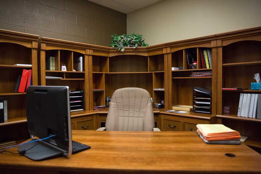high school office. Fine School Jeff Butts Office Left Empty Awaits New Principal Jan 14 2015 Intended High School Office