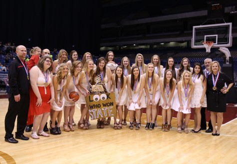Lady Eagle Players and Coach Recognized by TABC