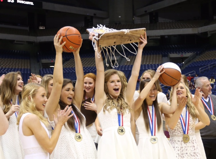 Back To Back Girls Basketball State Champs Take Home