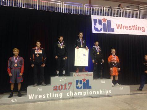 Freshmen Heath Roth Wins State Wrestling Title