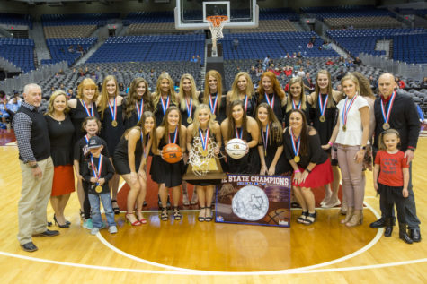 Lady Eagles Defeat Liberty Hill in State Championship