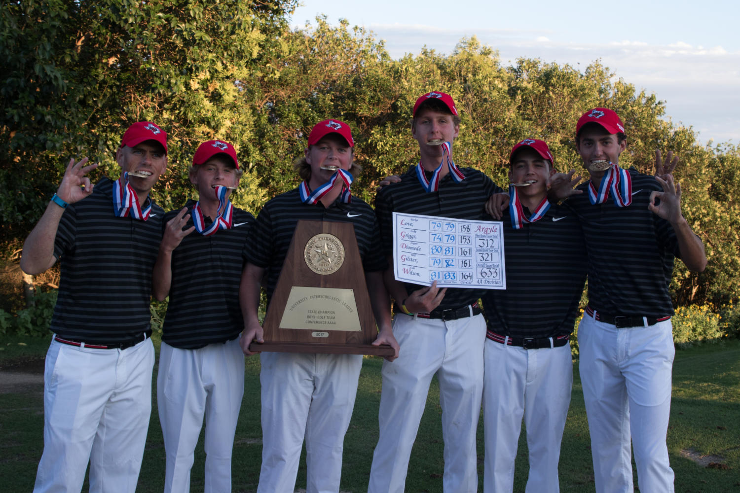 Argyle Boys golf competes at state on Tuesday, May 23 at Horseshoe Bay in Marble Falls, TX. (Hannah Wood / The Talon News)