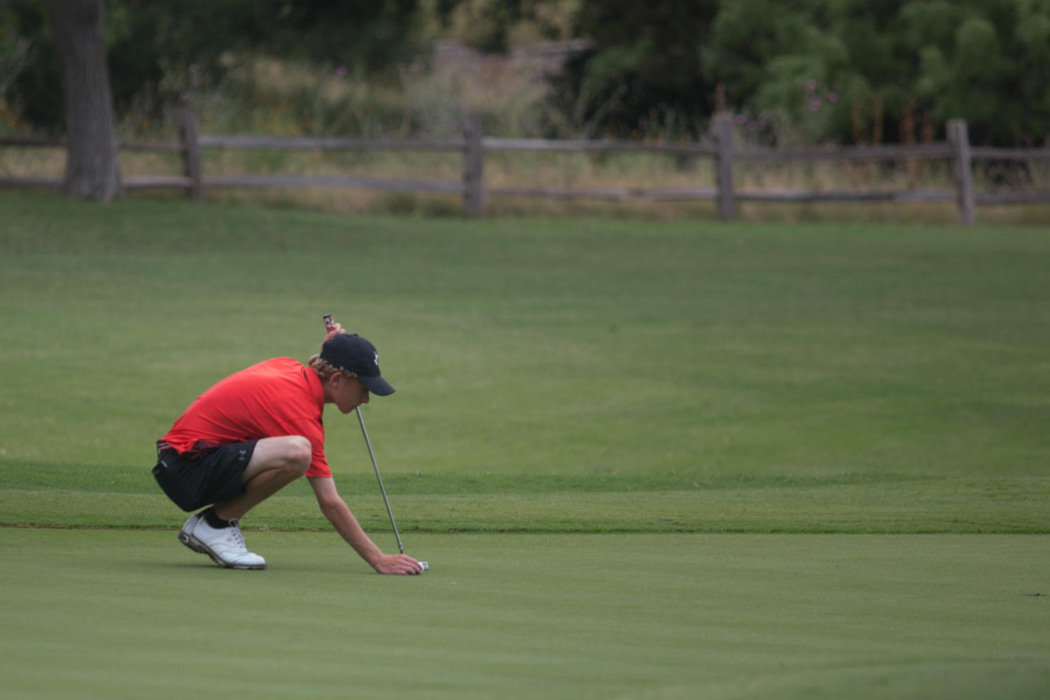 Argyle Boys golf competes at state on Friday, April 20 at Horseshoe Bay in Marble Falls, TX. (Hannah Wood / The Talon News)