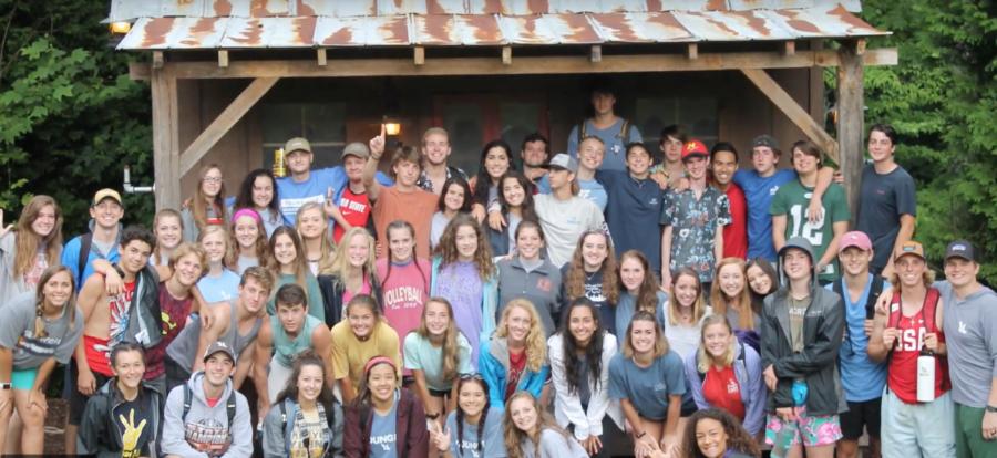Members of Younglife participate in Younglife camp, Sharptop Cove, in Jasper, Georgia in June 2017. (Photo courtesy: Kody Delmare)