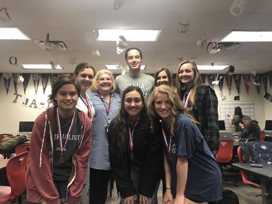 The Eagles win the UIL 4A-9 District Academic Meet at Argyle High School on March 21.