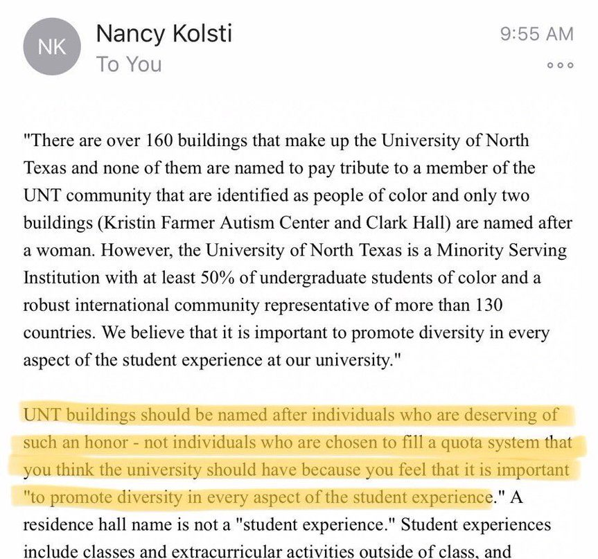 An email sent by Nancy Kolsti fueled the fire of an already roiling race debate across the country. (Jaclyn Harris / The Talon News)