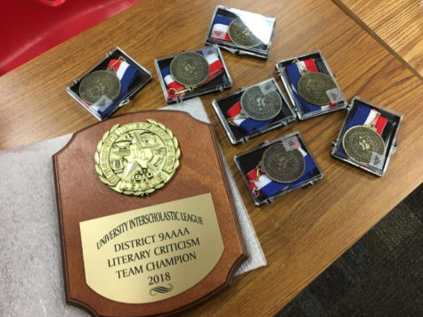 Eagles Win UIL District Academic Meet