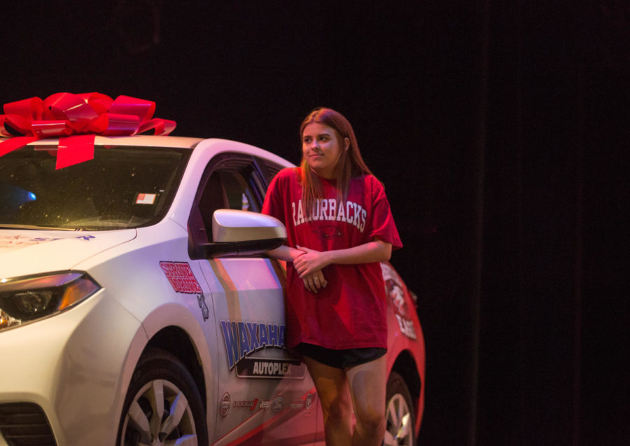 Student Wins Car in Giveaway