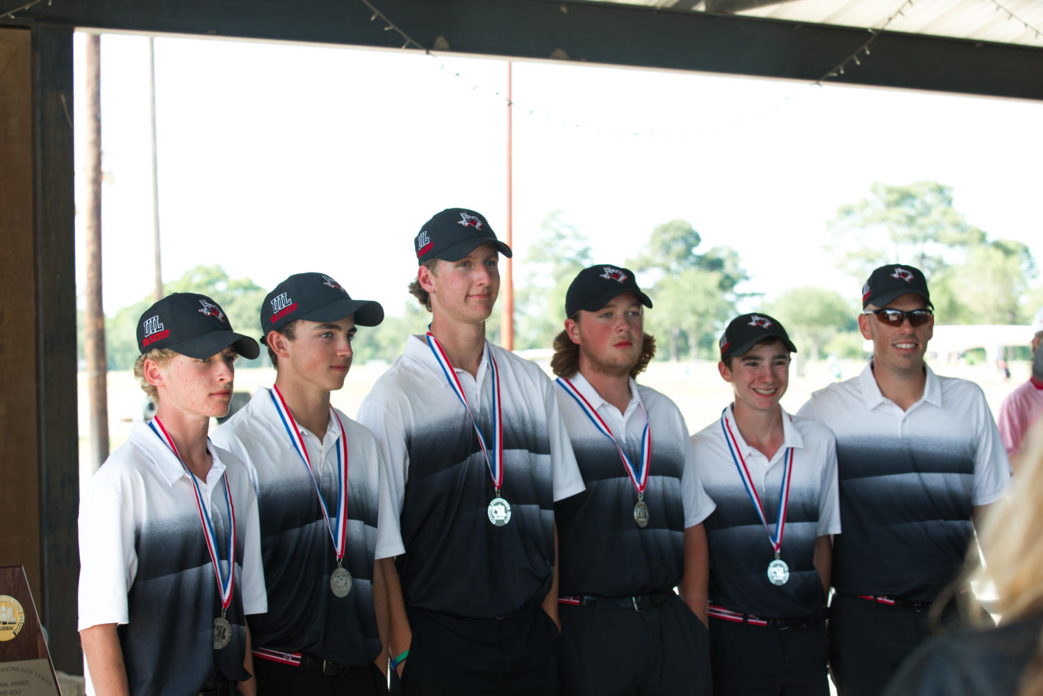 Eagles Golf takes second place at the Region Golf Tournament at Van Zandt Country Club in Canton, TX on April 24, 2018. (Georgia Penn / The Talon News)