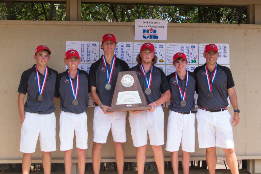 Boys Golf Places 2nd at State