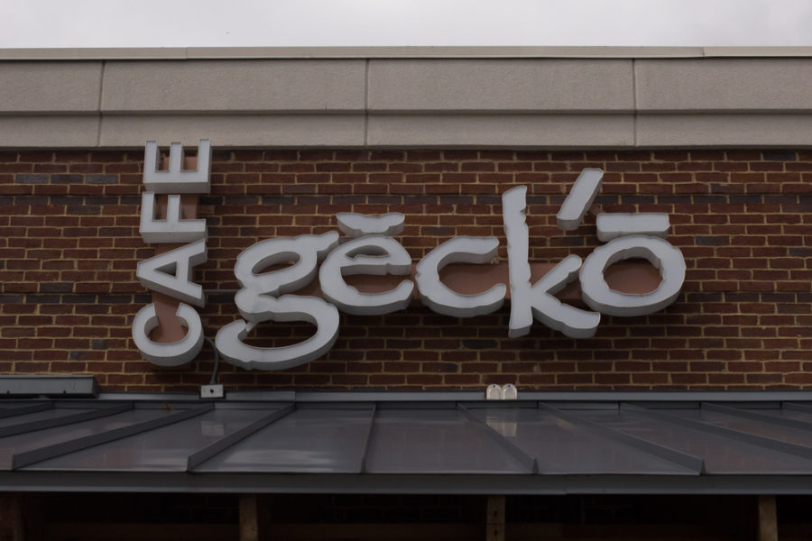The original Cafe Gecko opened in Addison in 1991 and now has two other locations in Richardson and Plano.  Cafe Gecko features a Mexican-Caribbean menu and tropical cuisine. Photo of Plano location taken on Sept. 29, 2018. (Sloan Dial / The Talon News)