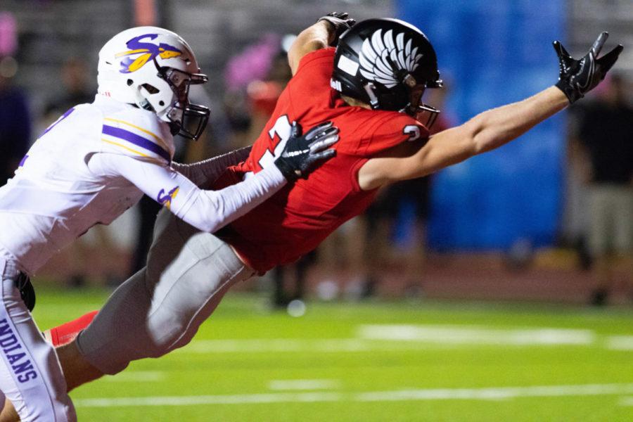 Argyle Eagles play Sanger for the Homecoming game at Argyle High School  in Argyle, Texas, on October 5, 2018. (Jordyn Tarrant / The Talon News)