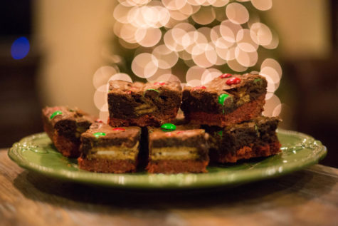 Triple Layer Holiday Brookies