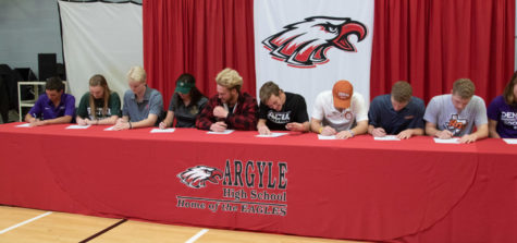 School Reaches Record Number of Athletic Signings
