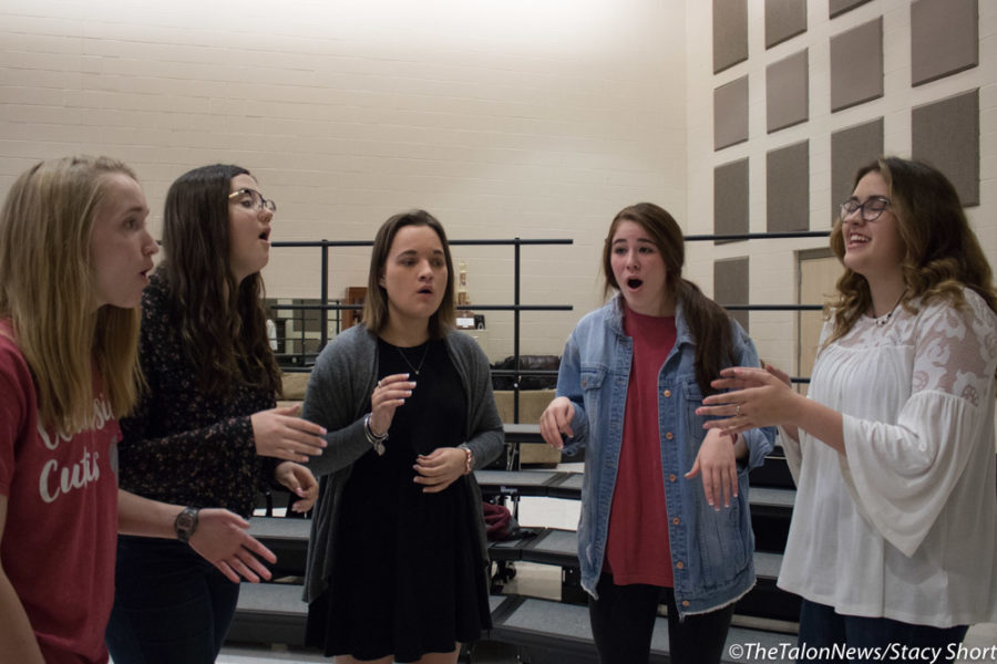 A cappella group Remedy recorded an EP to released in May at Argyle High School in Argyle, Texas. (Sarah Crowder / The Talon News)
