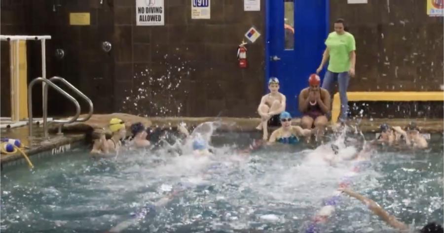 Haley Pacunas Swim Team
