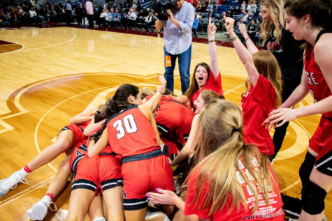 Lady Eagles Make History Winning Fifth Straight State Championship