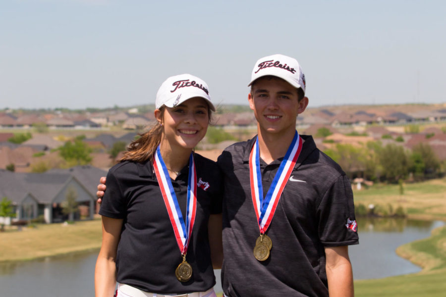 Boys+and+Girls+Golf+team+compete+in+the+District+8++at+Robson+Ranch+in+Argyle%2C+Texas%2C+on+April+8%2C+2019.+%28Max+Van+Drunen+%2F+The+Talon+News%29
