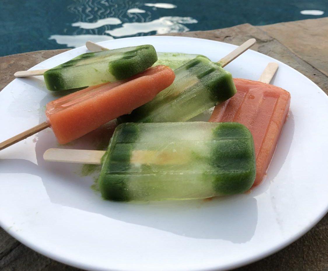 A new recipe for delicious summer frozen treats. (Karina Navarro / The Talon News)