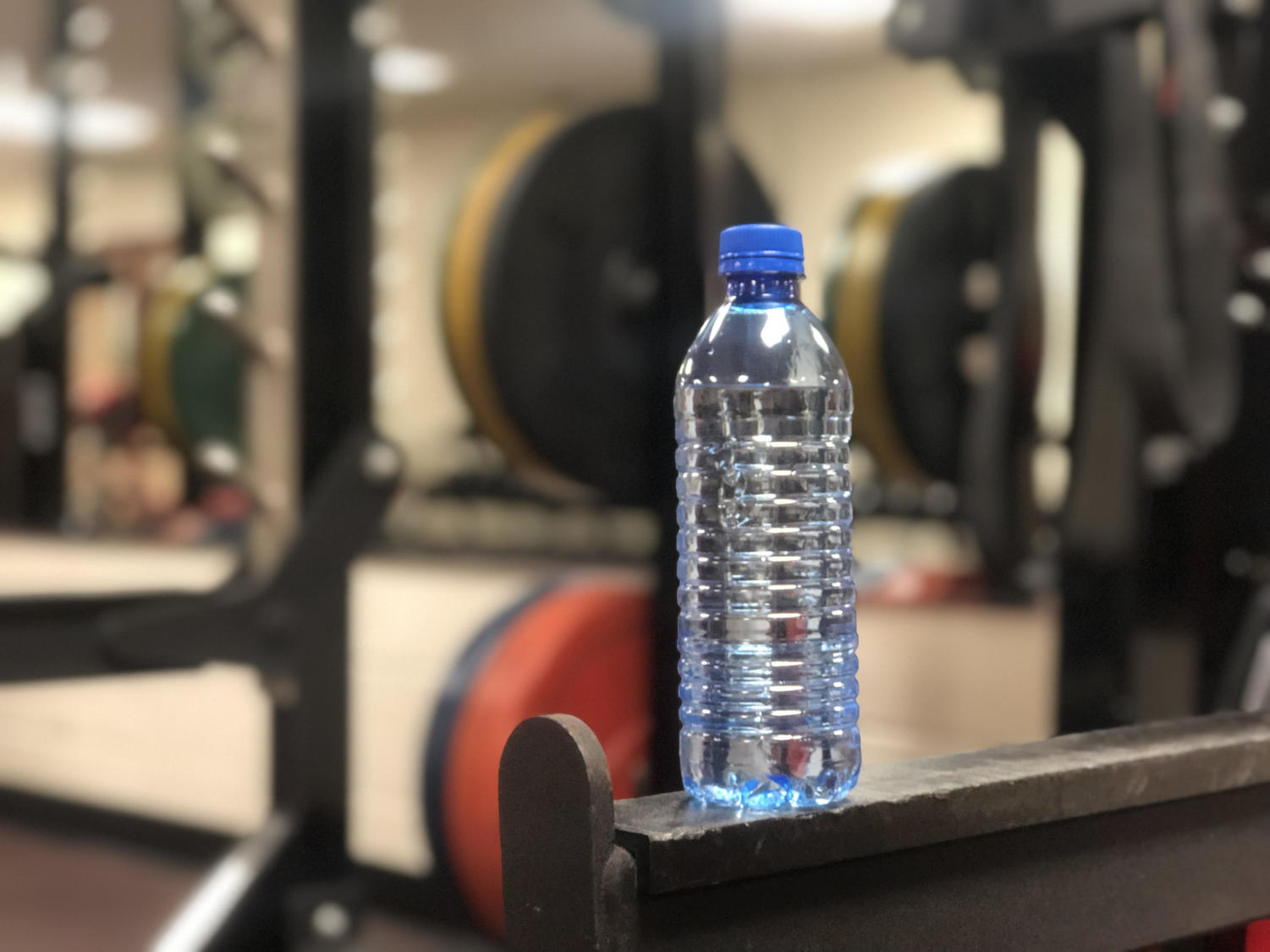 Drinking water and getting exercise are the two most important things to do to maintain a healthy lifestyle. (Lauren Metcalf/The Talon News)