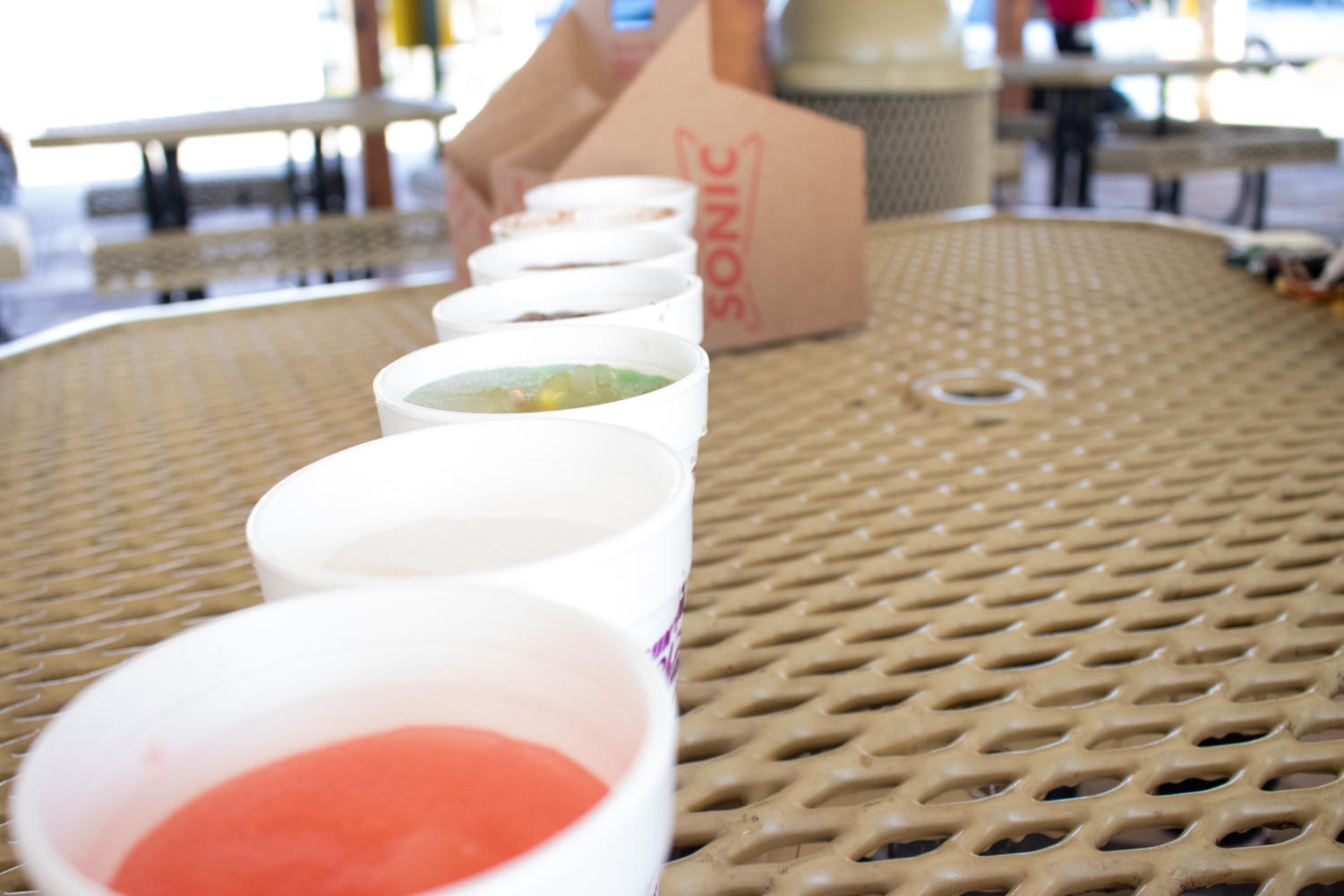 A review of six of Sonic's most unusual drinks (Jaclyn Harris / The Talon News)