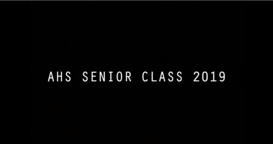 Class of 2019 Senior Video