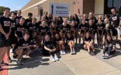 PAL students stand outside Group Dynamix after some group bonding on September 25, 2019 in Carrollton, Texas. (Photo Courtesy of Lance Sutton)