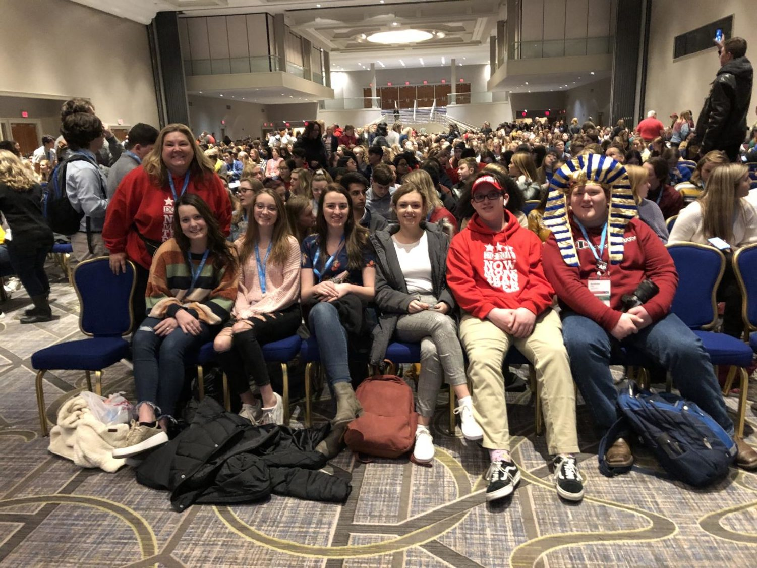 Staff Members attend the annual Journalism Educators Association (JEA) convention on November 23, 2019 in Washington D.C. (Photo Courtesy Jeanne Acton)