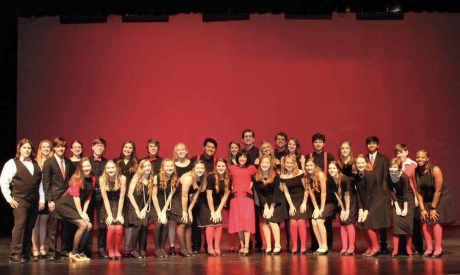 This year's theatre department will put on the musical Thoroughly Modern Millie. (Photo Courtesy Jessica Reynolds)