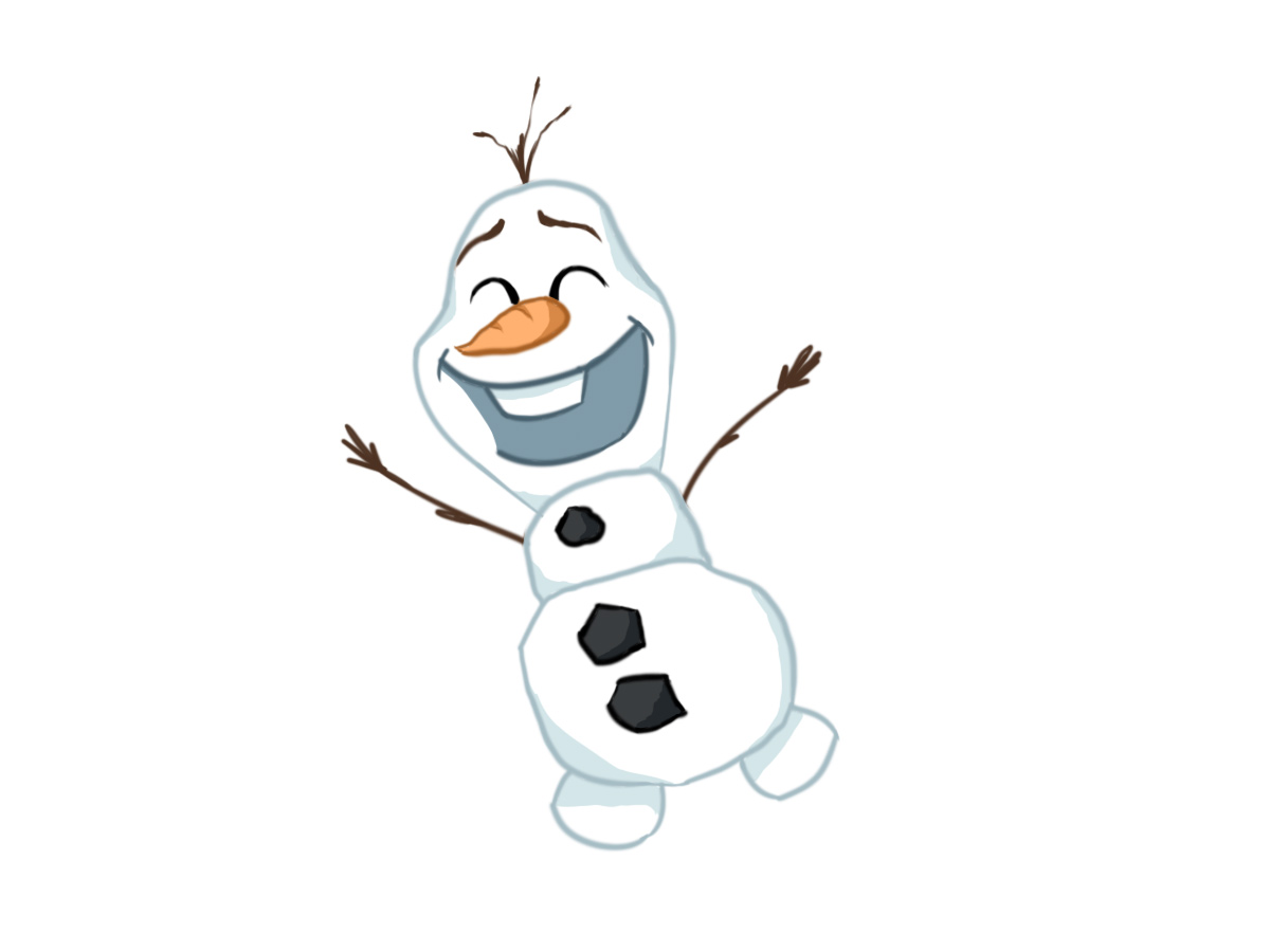 Olaf, a popular animated character from the Frozen franchise is in the newest sequel (Artistic rendering by Jon Hopper) .
