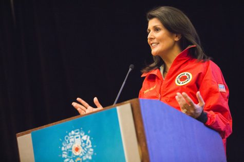 Nikki Haley speaks at City Year in support of schools in need. (