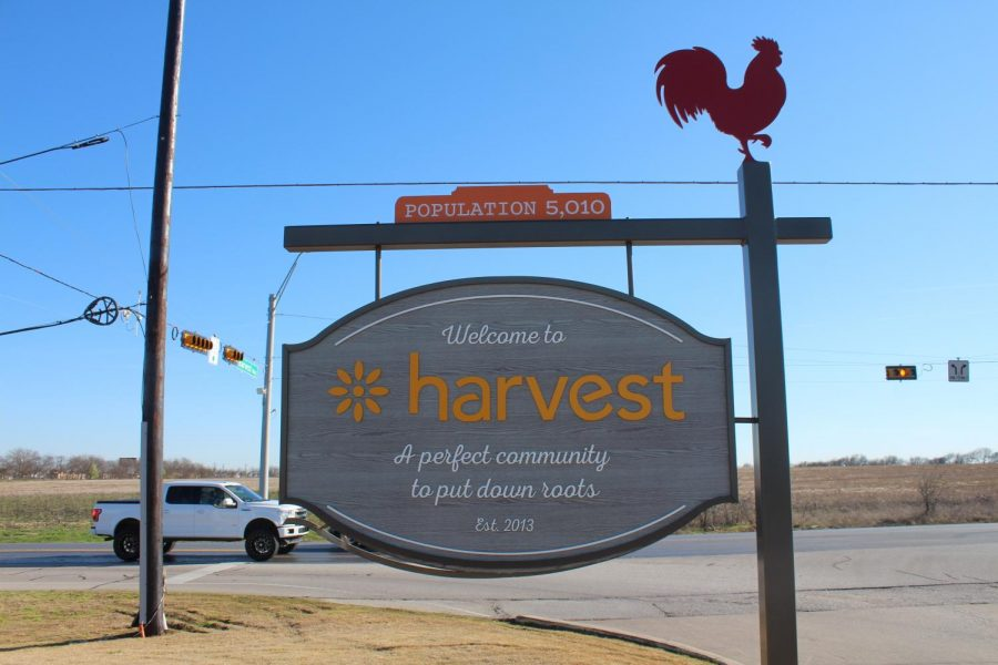Harvest is a nearby neighborhood in the Argyle ISD system that focuses on providing a strong, family-oriented environment for all residents. (Emma Campbell / The Talon News)