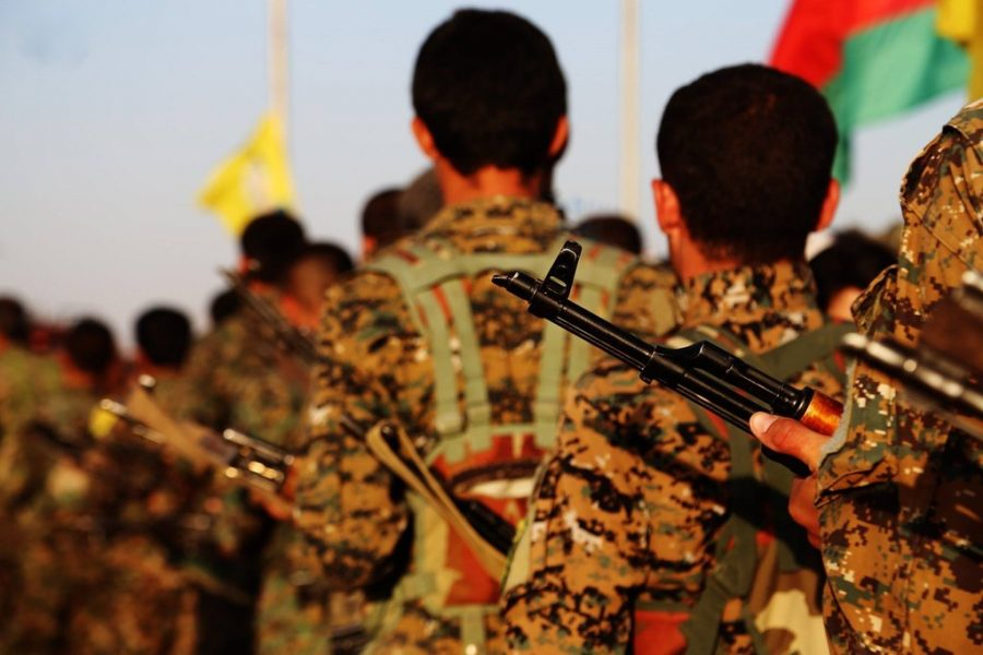 """Kurdish YPG Fighters"" by Kurdishstruggle is licensed under CC BY 2.0"