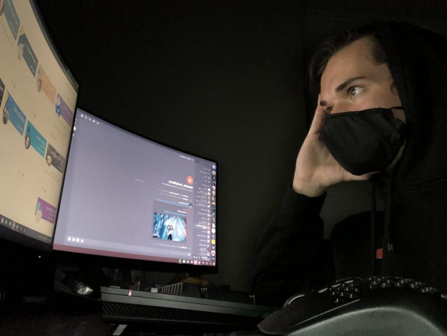 Students who are quarantined prefer to have a virtual option so they do not fall behind.  (Owen Norkett | The Talon News)